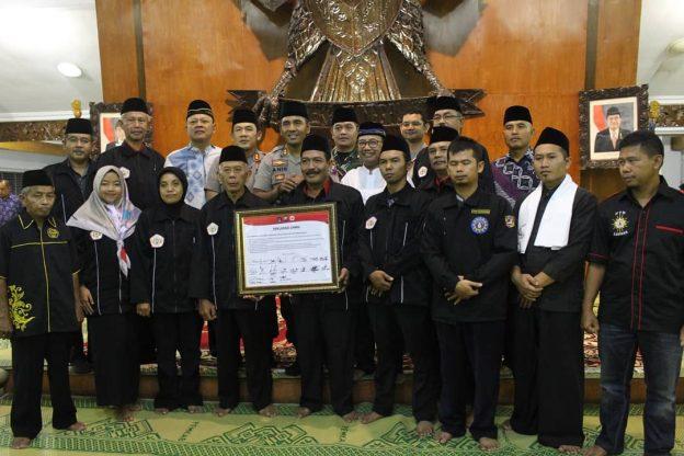 Bupati Blitar H. Rijanto Hadiri Acara Silaturahmi dan Pengarahan Kamtibmas Kepada IPSI