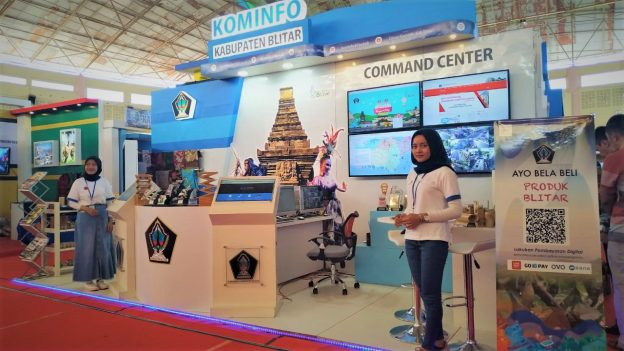 Diskominfo Kabupaten Blitar Turut Semarakkan Jatim Kominfo Festival 2019
