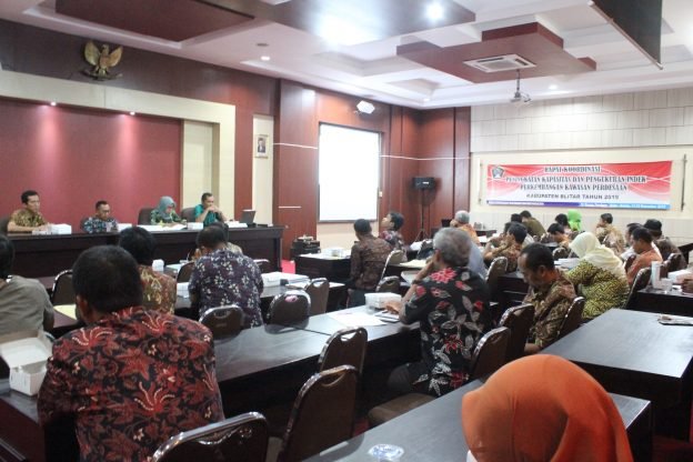 Rapat Koordinasi Peningkatan Kapasitas dan Pengukuran Indeks Perkembangan Kawasan Perdesaan