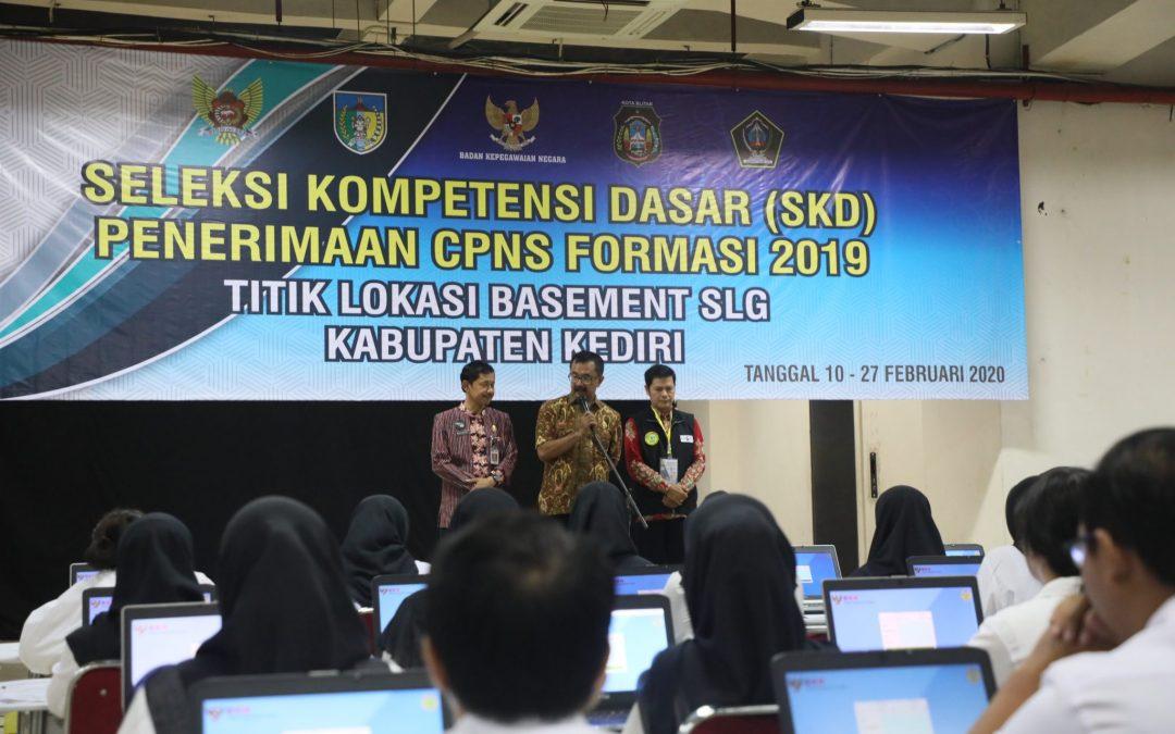 Hari Pertama Tes SKD, Pemkab Blitar Siap Fasilitasi Peserta CPNS Kabupaten Blitar Tahun 2019