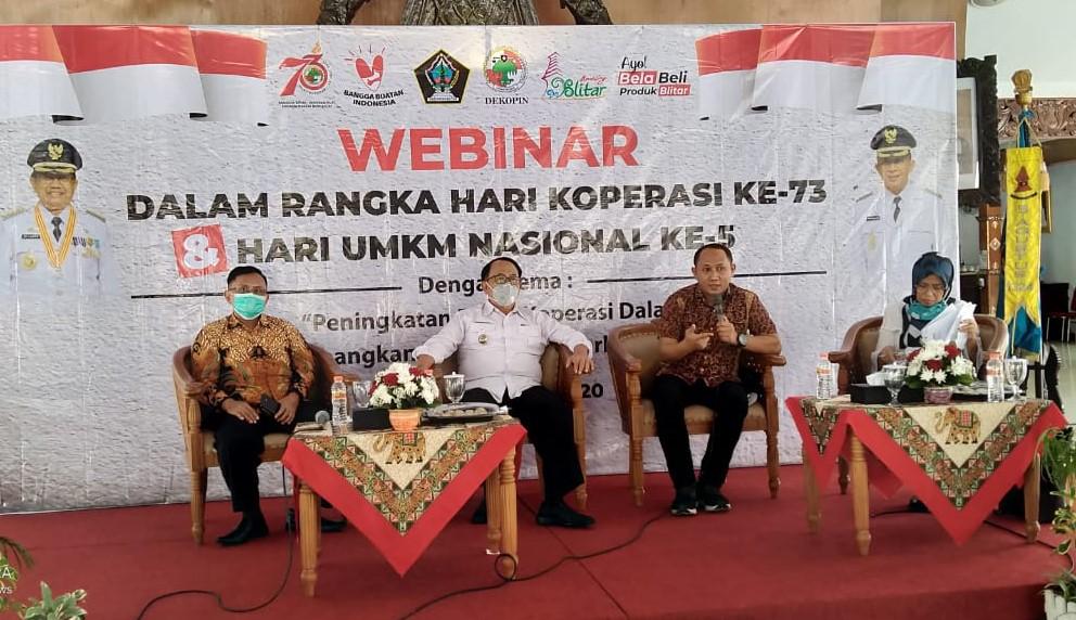 Bupati Rijanto Siap Dukung Peran Koperasi Mengembangkan UMKM